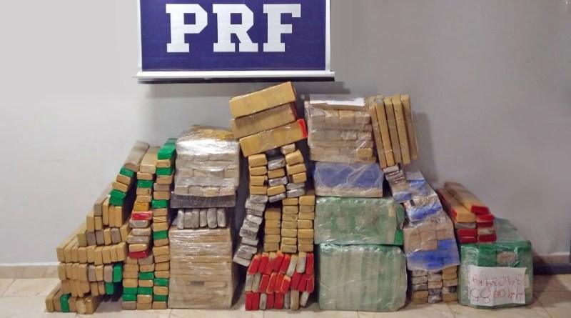 Tráfico de drogas: quase 400 quilos de maconha são apreendidos em RONDÔNIA